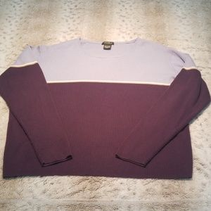 Eddie Bauer Medium Weight Cable Knit Sweater